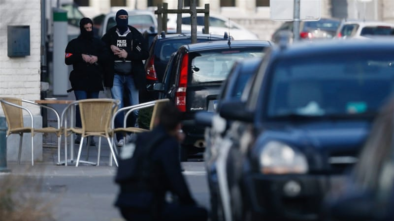 The raid was related to last year's deadly attacks in the French capital, Paris [Laurent Dubrule/EPA]
