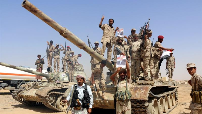The government forces say rebels were using al-Mokha port to smuggle weapons into Yemen [Reuters]