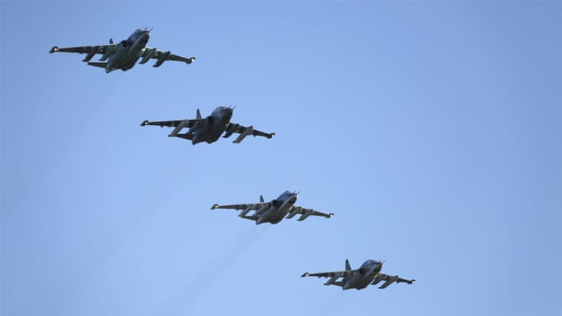 Russia began its aerial campaign in Syria on September 30 [Reuters]