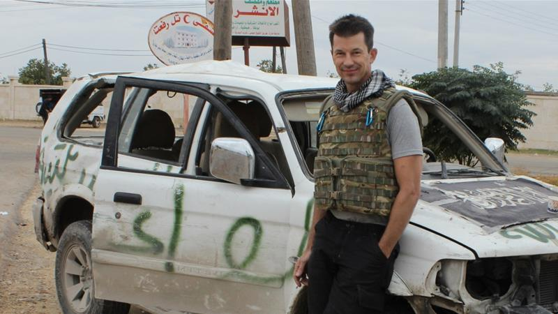 Cantlie was one of about a dozen Western hostages held by the group over the past four years [AP]