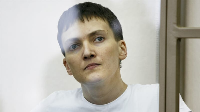Savchenko was captured by pro-Russia rebels in July 2014 [AP]