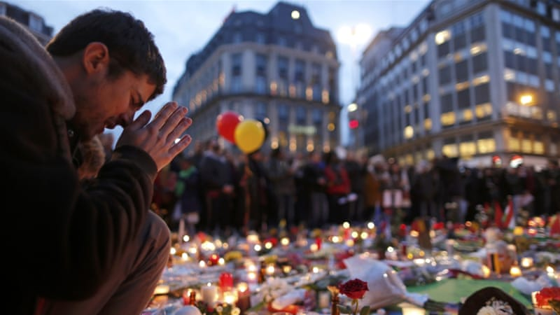 Three suicide bombers killed 32 people in Belgium's worst terror attack last month [Christian Hartmann/Reuters]