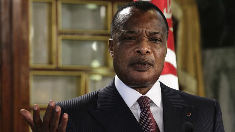 The fighting comes weeks after President Denis Sassou Nguesso's re-election [Reuters]