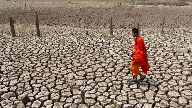 Thailand is in the middle of its worst drought for more than 20 years [EPA]