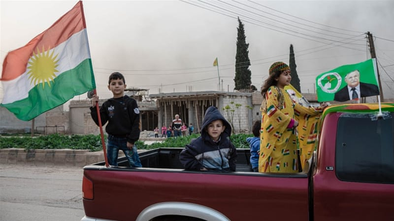 Syria's Kurds celebrated Newroz this month, following the declaration of a federal system in the north [Andrea DiCenzo/Al Jazeera]