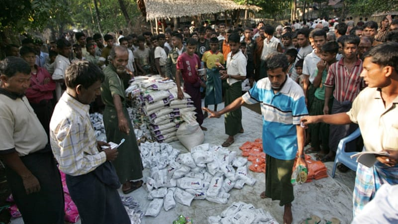 Deadly clashes in 2012 displaced more than 100,000 people, mostly Rohingya Muslims in Rakhine [The Associated Press]
