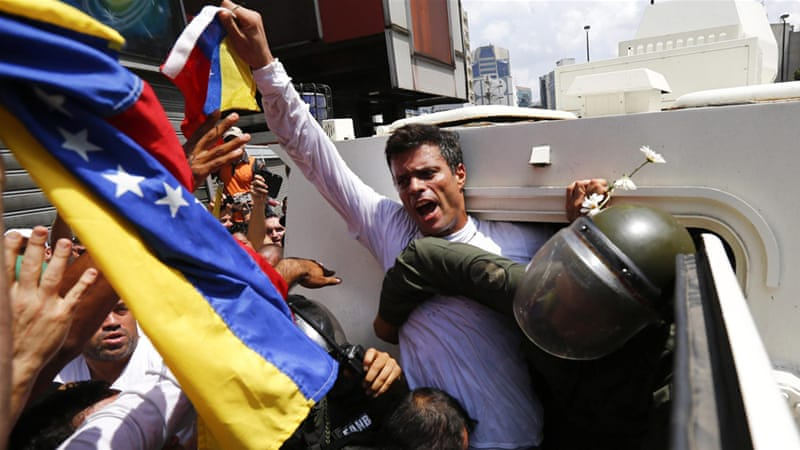 Human rights groups have called Leopoldo Lopez one of the highest-profile political prisoners in Latin America [AFP]