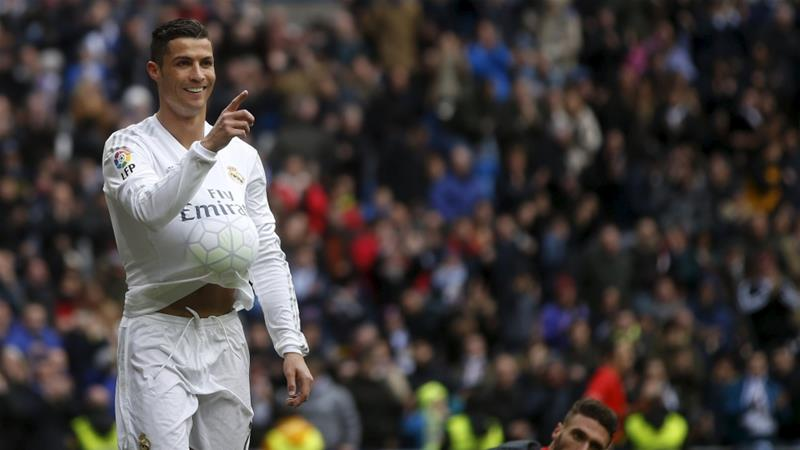 In addition to the Champions League, Ronaldo is also top scorer for his club Real Madrid in all competitions [Reuters]