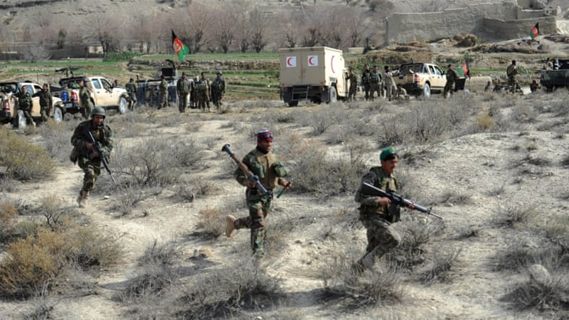 Afghan forces have claimed killing at least 200 ISIL loyalists in Nangarhar's Achin and Shinwar districts [File: Ghulamullah Habibi/EPA]
