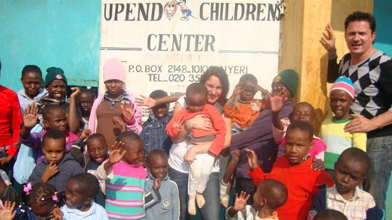 Durham served as a volunteer at the orphanage in Nairobi since 2012 [Upendo Children''s Home]