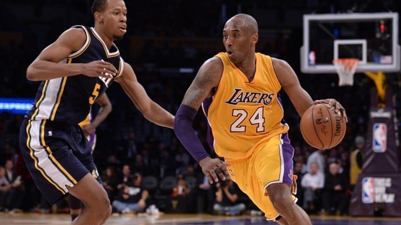 ff9a315b Kobe Bryant: LA Lakers win NBA star's farewell game | News | Al Jazeera