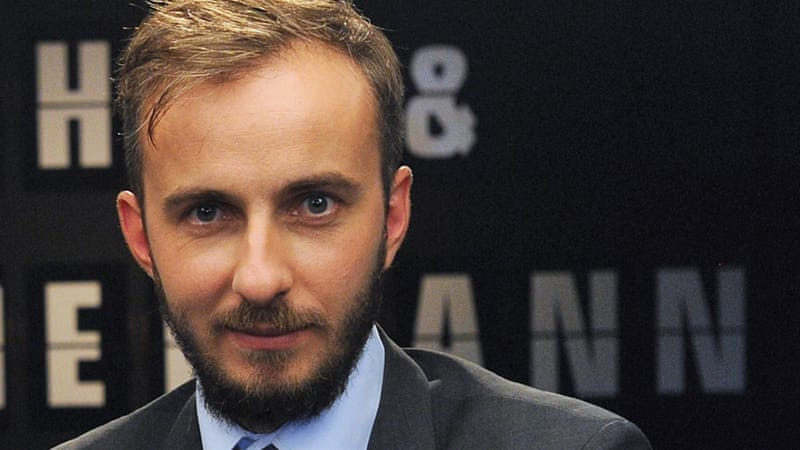 Comedian Jan Boehmermann was at the centre of the 'satire crisis' between the German government and Turkish President Erdogan [AP]