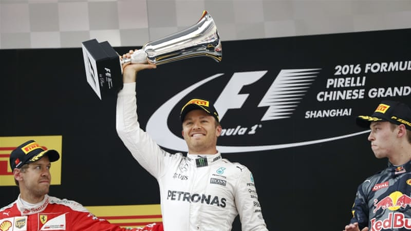 Rosberg leads team mate Hamilton by 36 points [Reuters]