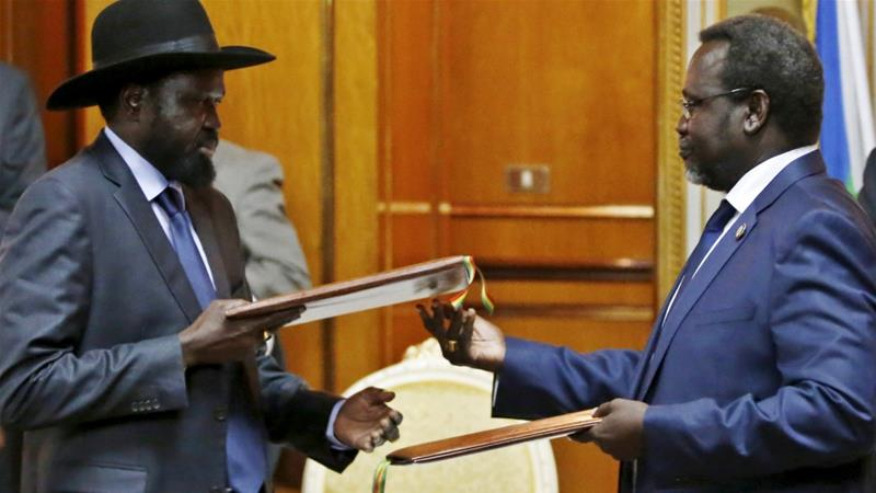 South Sudan rebel chief in Ethiopia for talks with President Kiir