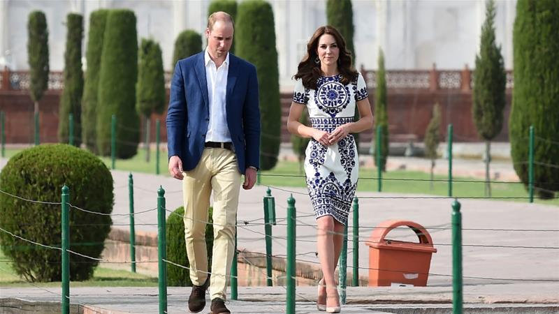 The royal couple will meet Pakistan's president and prime minister during their five-day visit [File: Money Sharma/AP]