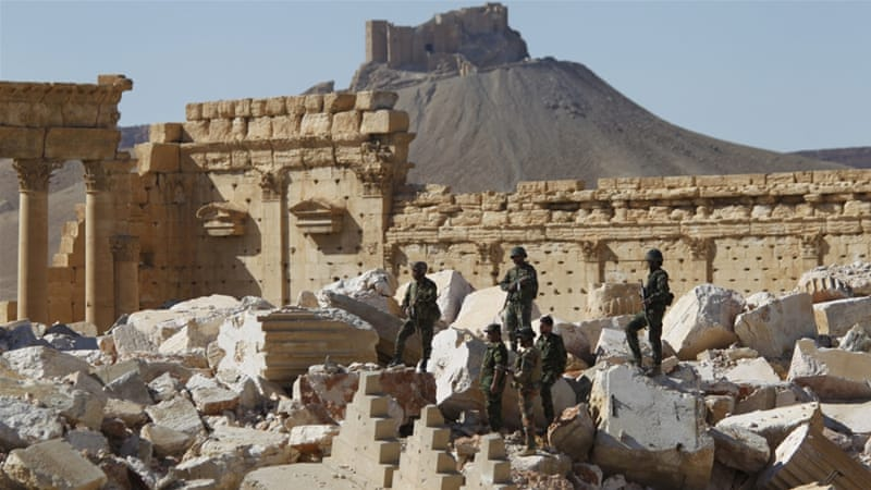 Palmyra city is home to some of the most extensive ruins of the Roman Empire [Reuters]
