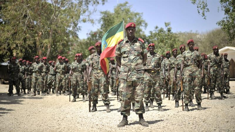 Ethiopian soldiers have asked for a review the structure and operations of the military [File: Reuters]