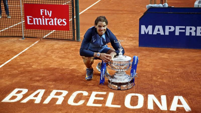 Nadal has now moved into second place in the 2016 point race to the World Tour Finals in London [EPA]