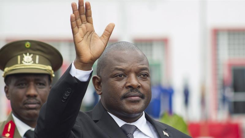 President Pierre Nkurunziza has been in power since 2005 [File: Evrard Ngendakumana/Reuters]