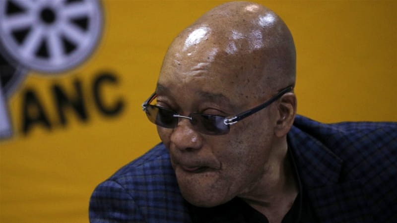 President Jacob Zuma faces his biggest challenge as the parliament will debate a motion to impeach him. [Siphiwe Sibeko/Reuters]