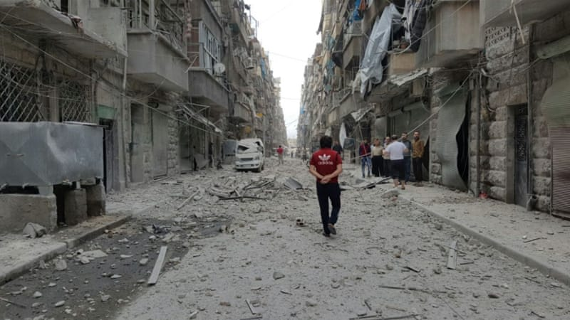 Fighting in Aleppo has killed more than 240 people in just over a week of renewed violence [Al Jazeera]