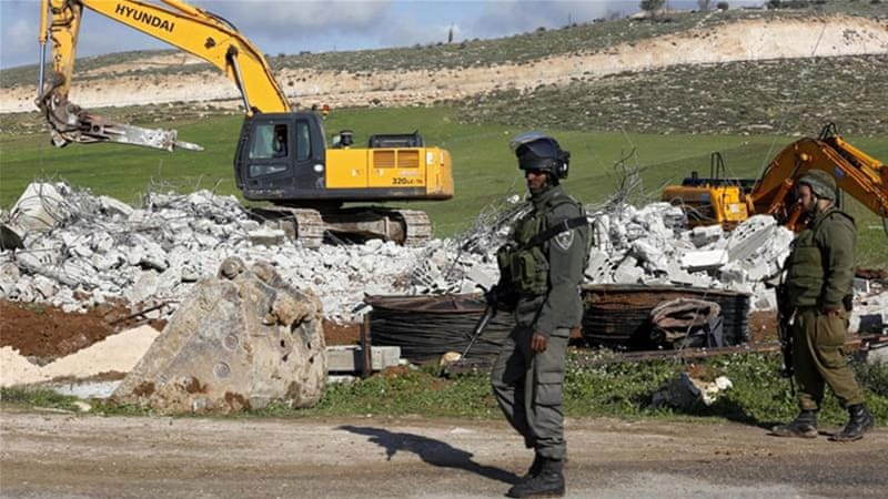 Since the beginning of this year, Israel has demolished on average 29 Palestinian-owned buildings a week, according to the UN [Filepic: EPA]