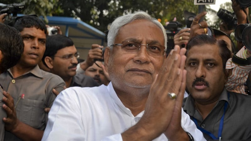 Nitish Kumar had promised to ban liquor before re-election in November last year [Aftab Alam Siddiqui/AP]