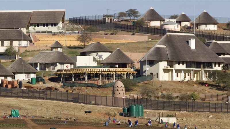 A general view of the Nkandla home of South Africa's President Jacob Zuma in Nkandla [Rogan Ward/Reuters]