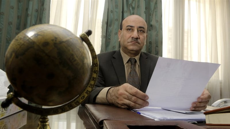 Egypt's former top auditor was fired months after alleging mass corruption over $75bn [Amr Nabil/AP]