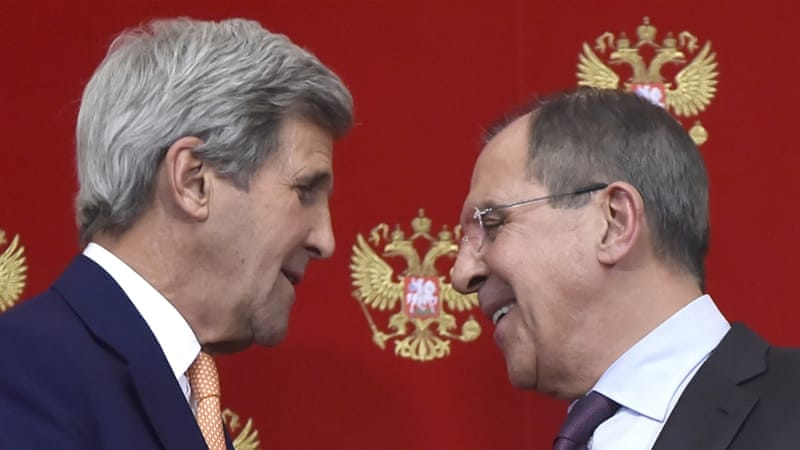 Kerry and Lavrov had their ups and downs, but those were the kind of disagreements couples have even on their honeymoon, writes Bishara [AP]