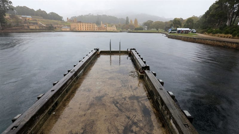 Western Tasmania caught a soaking as frontal activity became more frequent [Rob Blakers/Reuters]