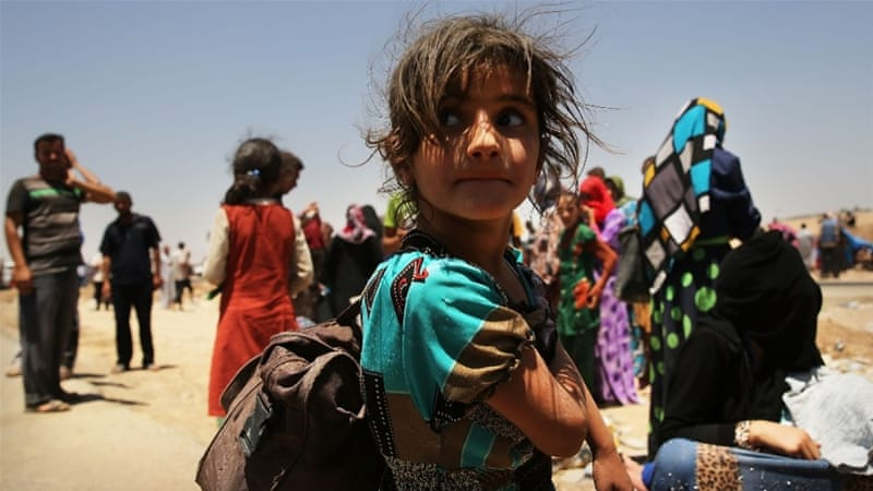 Iraq's need for humanitarian aid