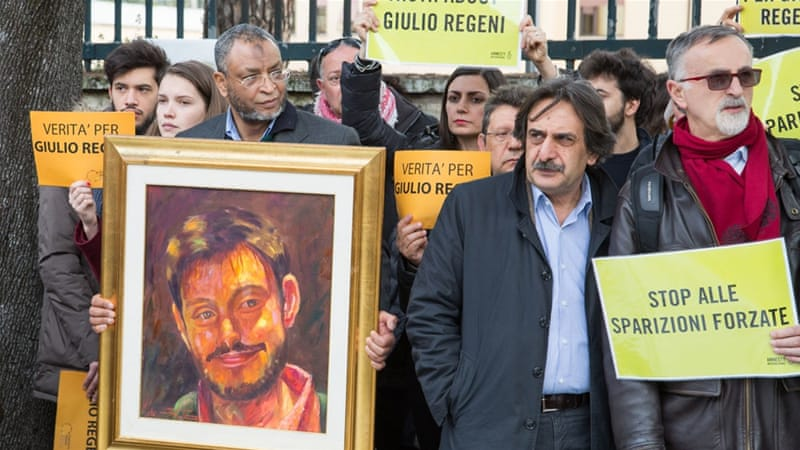 Italy To Return Envoy To Cairo, Ending Regeni Standoff