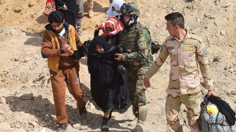 The United Nations says at least 50,000 Iraqis in besieged Fallujah face starvation [Reuters]