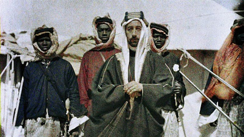 Faisal bin Hussein sided with the British army and organised the Arab revolt against the Ottoman Empire [Getty]