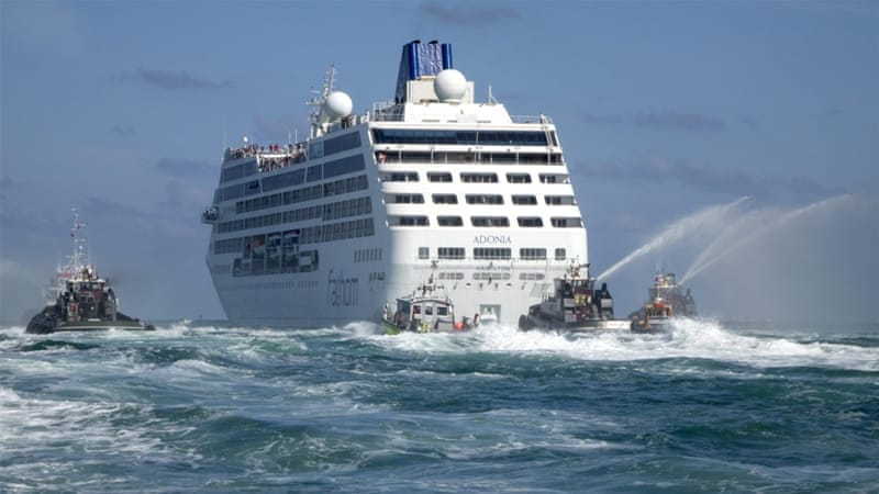 First Us Cruise Ship In Nearly 40 Years Docks In Cuba
