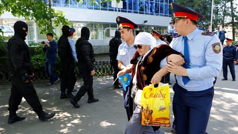 Kazakhstan's deputy prosecutor general said police had worked to prevent any violations of the law [Reuters]