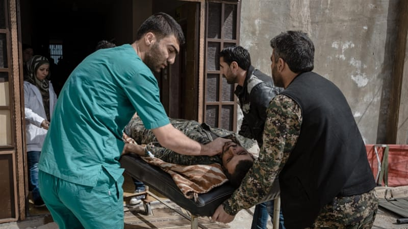 Border closures have presented a major obstacle for Syrian Kurds fighting ISIL, making it difficult for them to access necessary medical treatment [Andrea DiCenzo/Al Jazeera]
