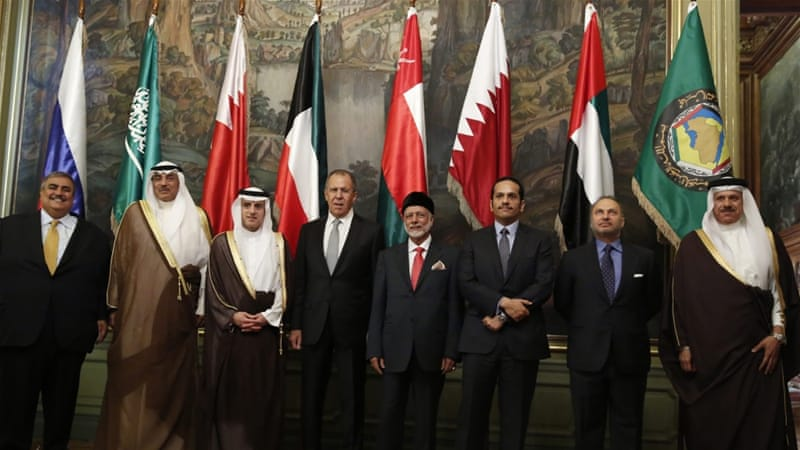 Thursday's meeting is the fourth between Lavrov and the GCC ministers [EPA]