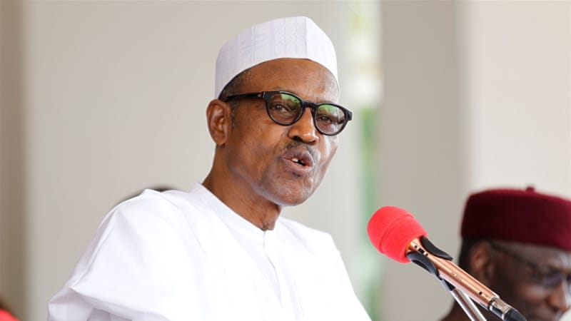 Buhari returns to Nigeria after London treatment