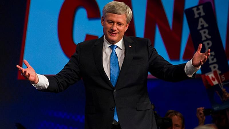 Former Canadian Prime Minister Stephen Harper [Getty]