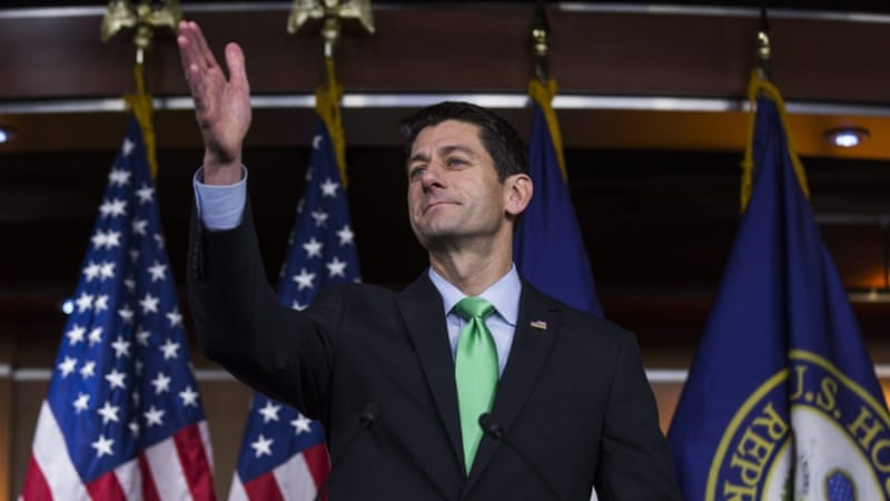 Ryan's announcement of not supporting Trump has sent shockwaves through the Republican establishment [Jim Lo Scalzo/EPA/File]