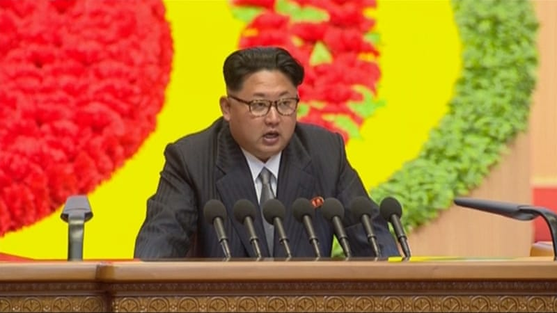 North Korean leader Kim Jong-un has been named in US sanctions for the first time [File: Associated Press]