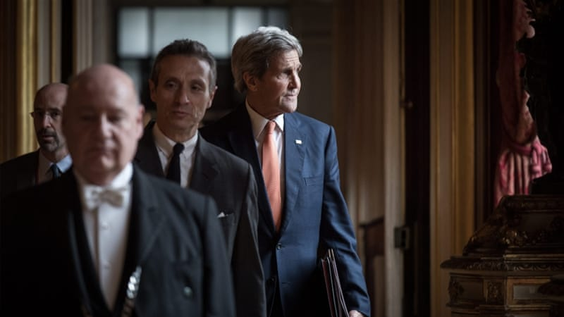 Kerry says Russia is committed to limiting Syrian government's ability to fly over civilian areas [EPA]