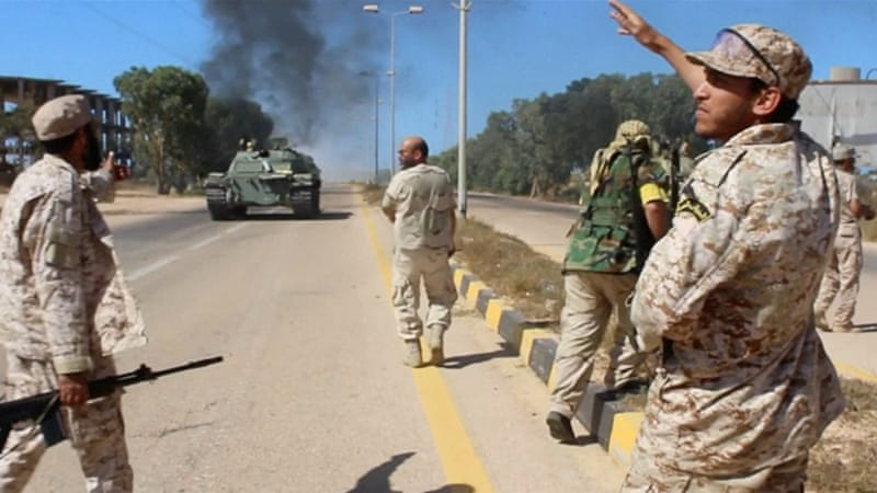 A unity government is battling ISIL for the control of Sirte [File: Reuters]