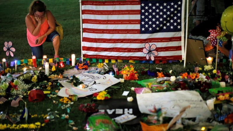 At least 49 people were killed at the Pulse nightclub in Orlando [Jim Young/Reuters]