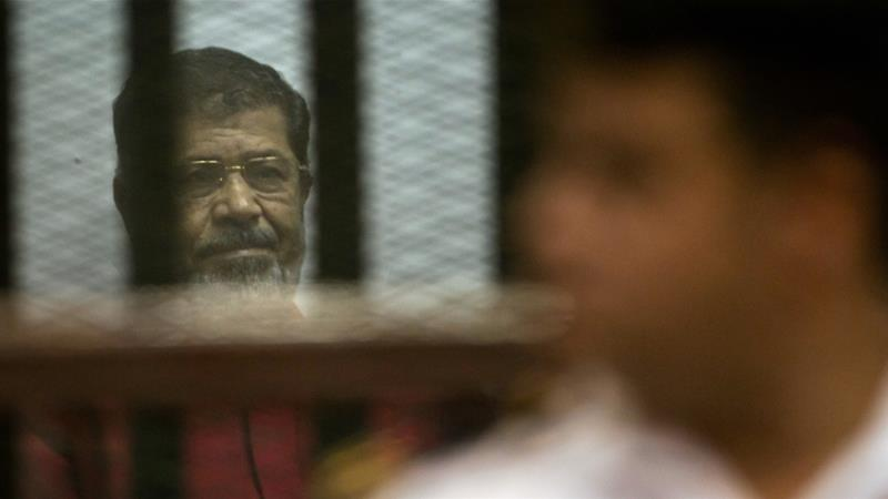 Morsi has been in prison ever since July 2013, after the military deposed him in a coup [File: AP]
