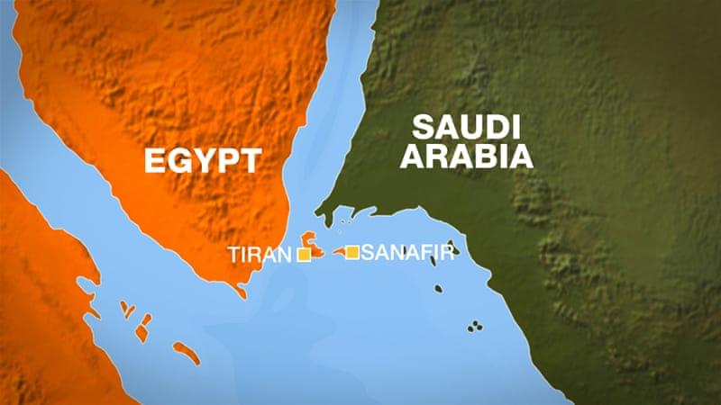 Court Rejects Red Sea Islands Transfer To Saudi Arabia Egypt - Map of egypt and saudi arabia