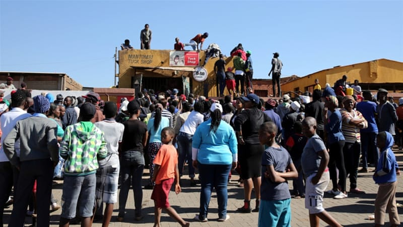 Similar protests broke out earlier this month in the home province of President Jacob Zuma, signalling increasing factionalism within the party ahead of a vote which analysts believe could see the ANC lose power in some major cities [Reuters]