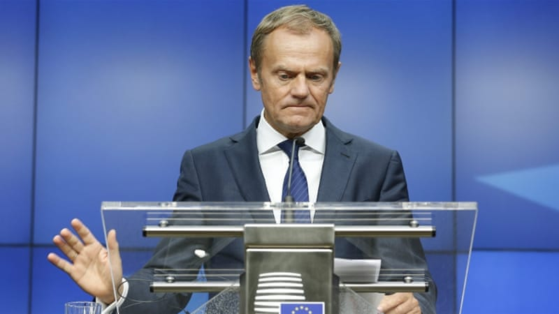 EU heads clear that open market relies on migrant access: Tusk